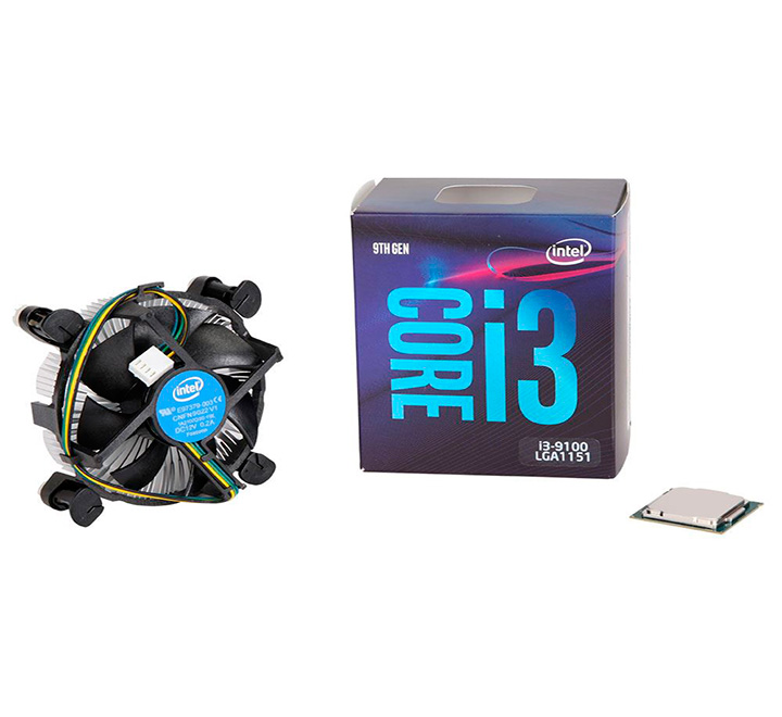 Work & game Procesador Intel Core i3 9100f