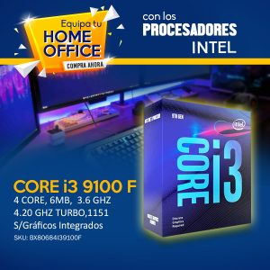 9100F ideal para home office