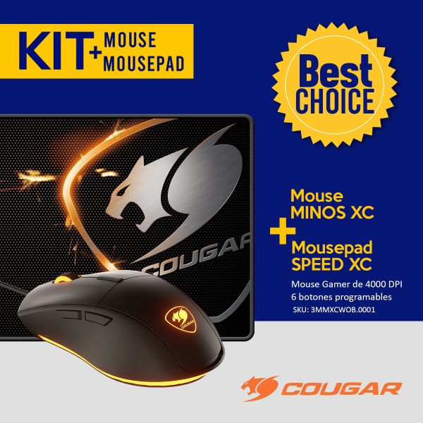 KIT mouse y mousepad