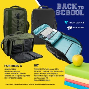 Mochilas Back to school