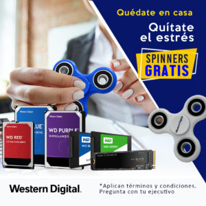 Spinners Western Digital