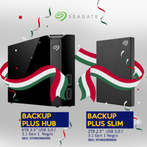 BackupPLUS Seguridad en datos avanzada